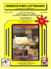 e82847034b7f Osservatorio Letterario Anno XV. NN. 79 80 2011